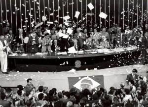 Promulgação-Constituição-1988